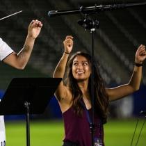 2019 Season: LA Galaxy Cristian Pavon Media Day BTS August 6, 2019. Photo by Bailey Holiver/LA Galaxy — www.LAGalaxy.com — @LAGALAXY